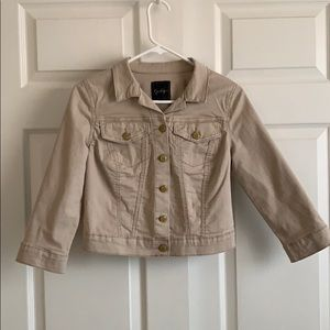Jessica Simpson Cropped  Jacket